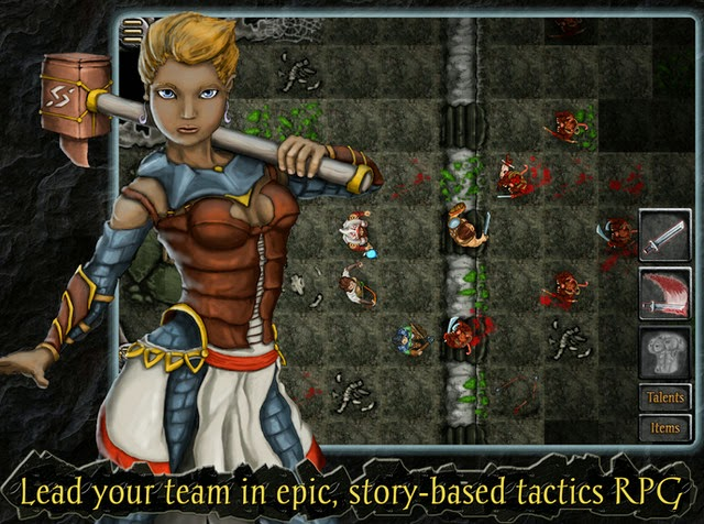 Heroes of Steel RPG Elite screensot