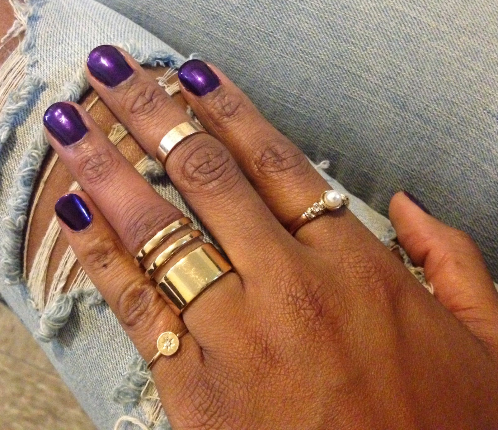 Styling On A Budget: Nail Color Of The Week: Purple Haze