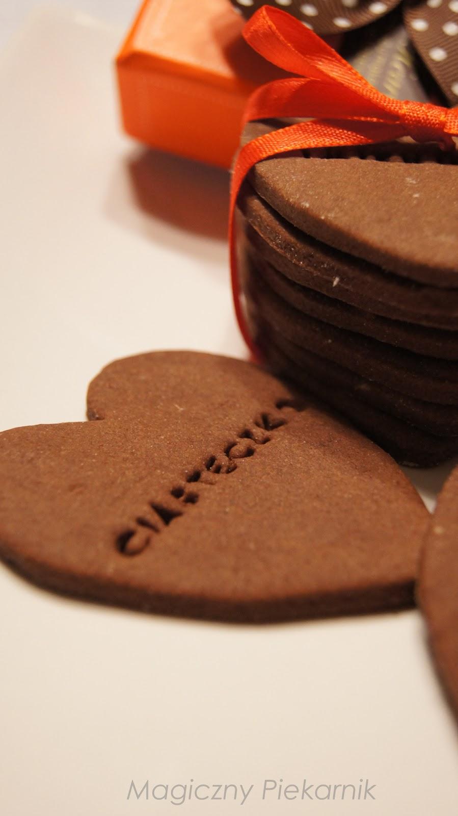 Ciasteczka czekoladowe (kruche)