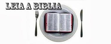 Leia a Biblia, se quiser crescer