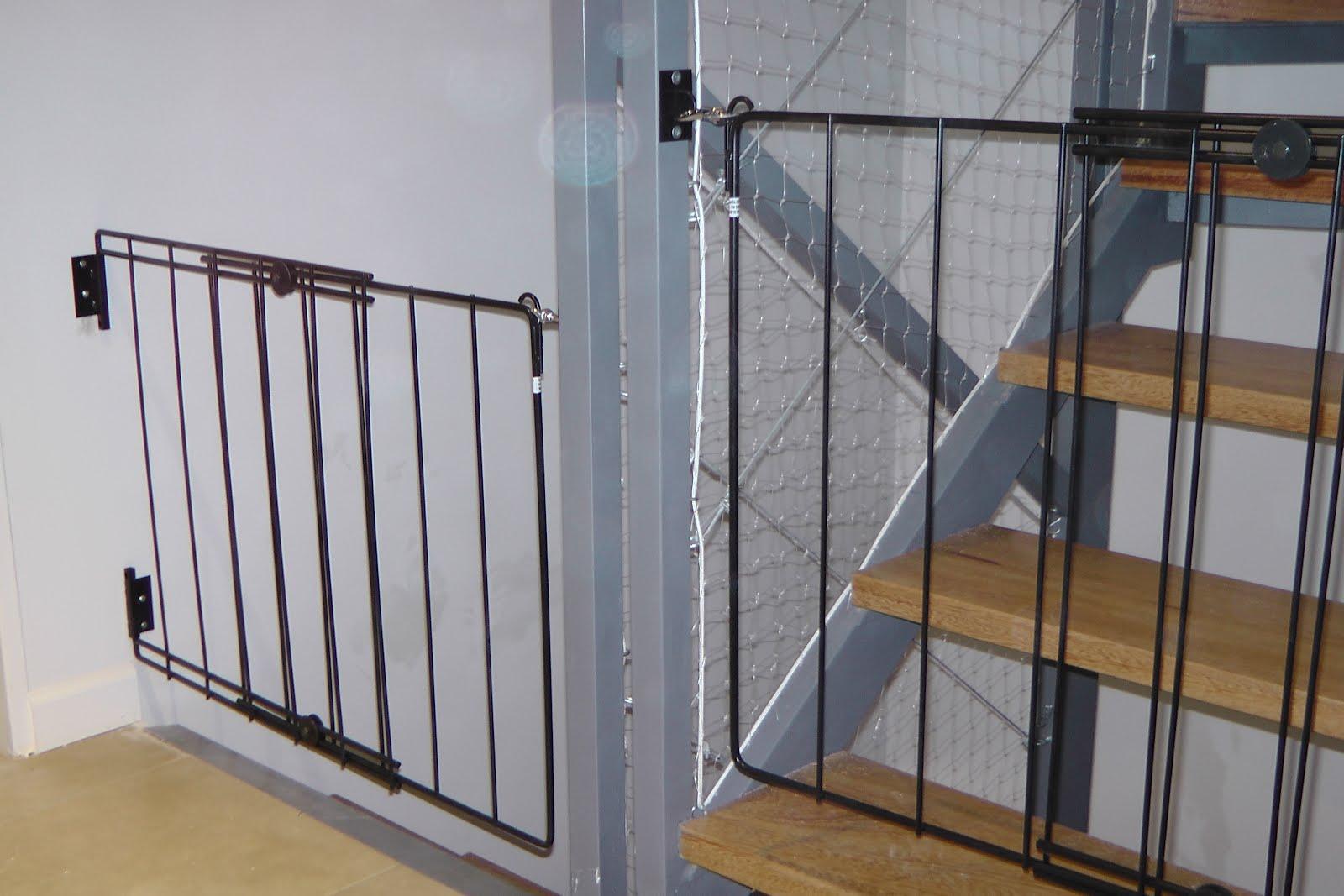 Grupo botix protecciones con redes tendederos - Puertas para escaleras ...