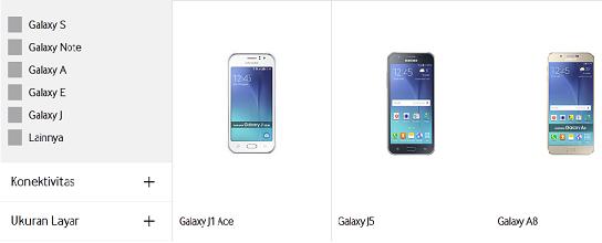Harga Samsung Galaxy Terbaru Oktober 2015