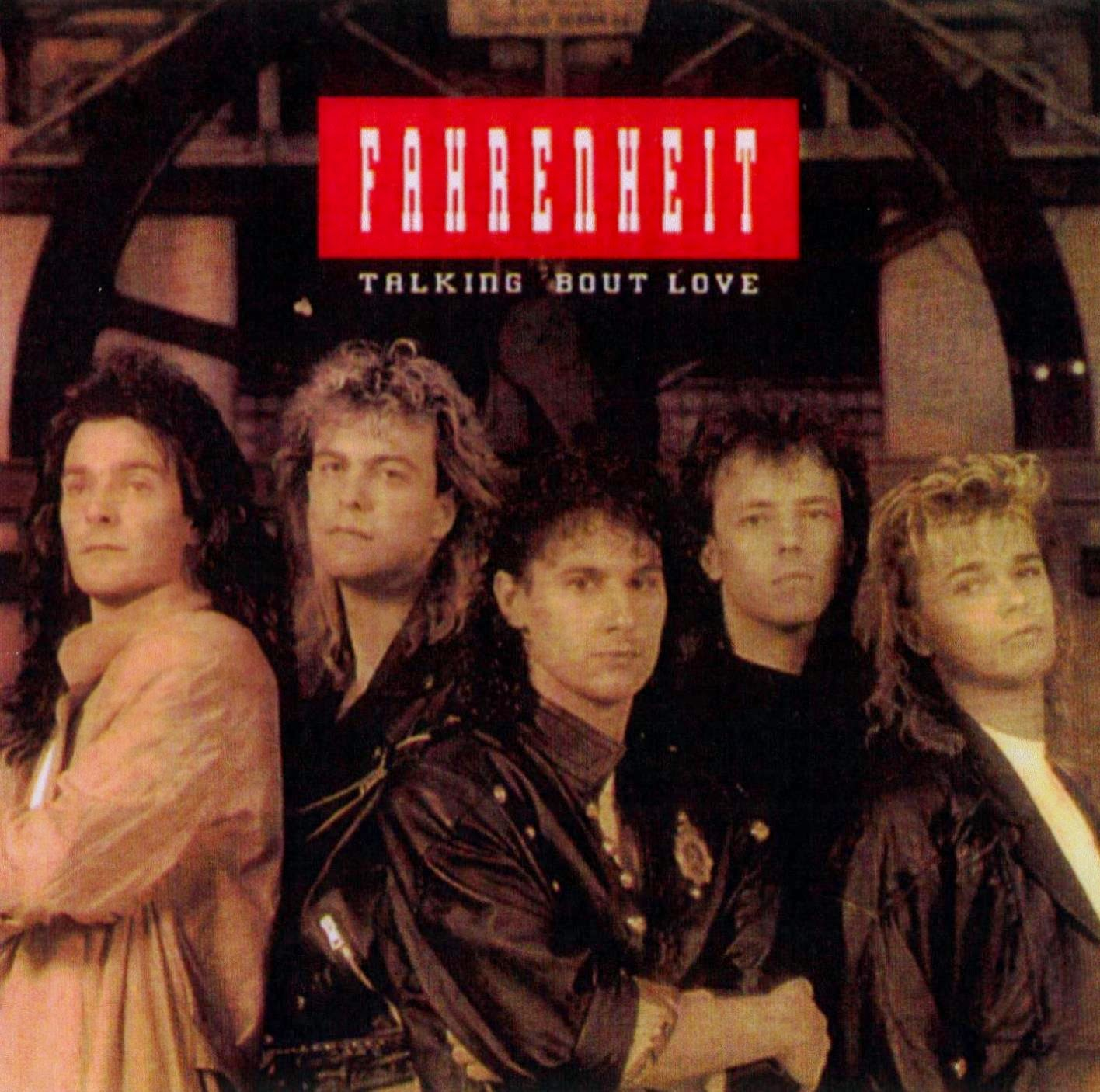 Fahrenheit Talking about love 1989 aor melodic rock music blogspot albums bands
