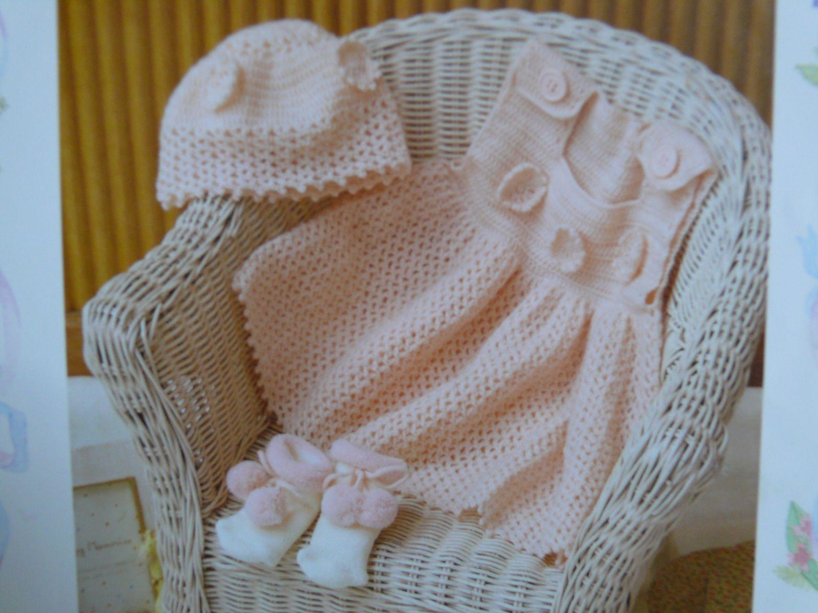 Пинтерест рукоделие вязание платья для новорожденного крючком
