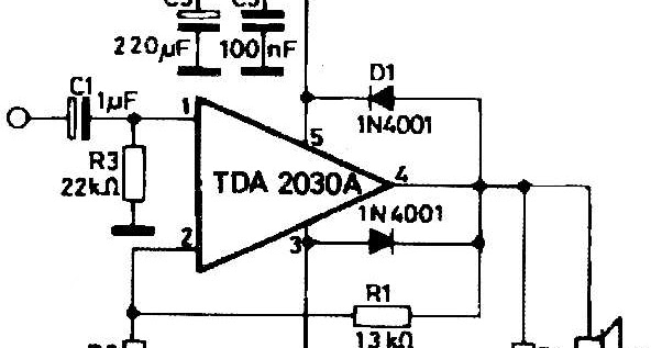 project expo   14watt amplifier using tda2030