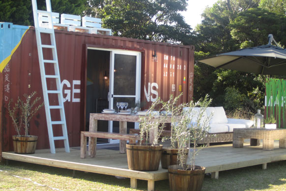 Shipping container homes jamie durie top design sydney australia 5 x 20 ft container - Australian container homes ...