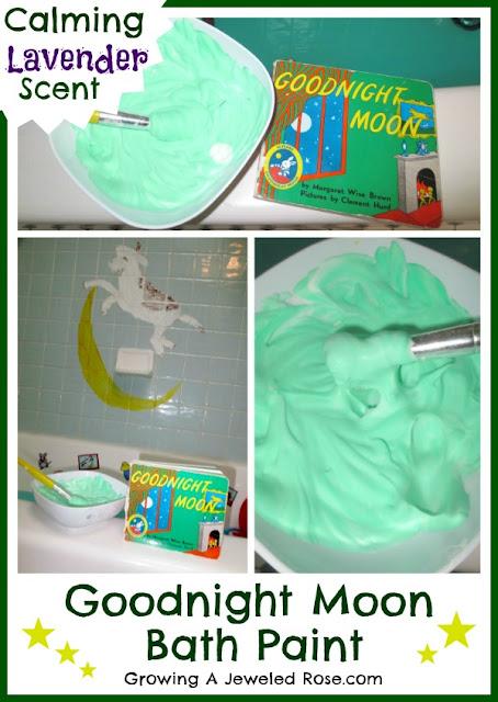 Goodnight Moon Storybook Bath Paint Recipe
