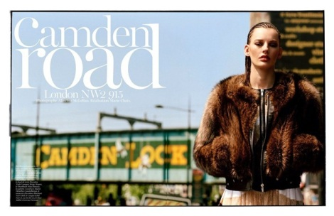 Camden Road by Alasdair McLellan for Vogue Paris