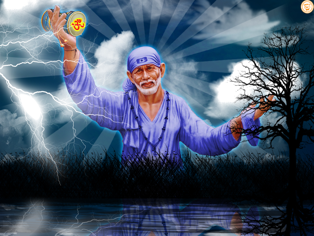Download Sai Baba HD wallpaper