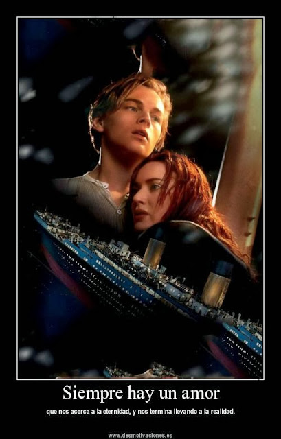 un amor como el del titanic muy dificil de encontrar