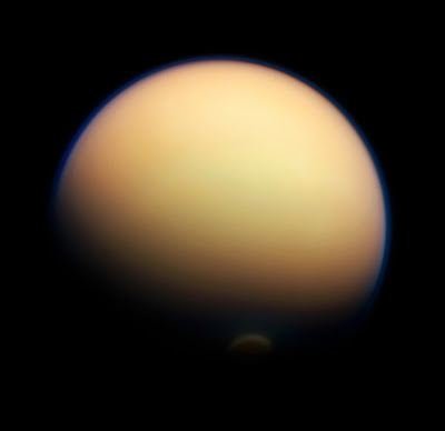 A vortex on Titan