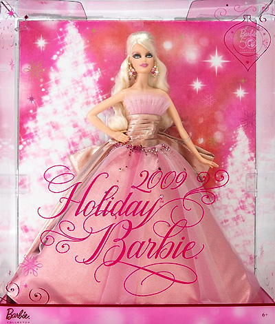Barbie Holiday 2009 Edition ~ Barbie >> Barbie Doll