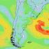 Ciclón extratropical pasará lejos. El riesgo en la costa será leve (Dom 23/8)