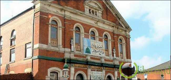 Al-Madina Jamia Masjid Oldham dulunya Gereja Trinity Wesleyan Methodist