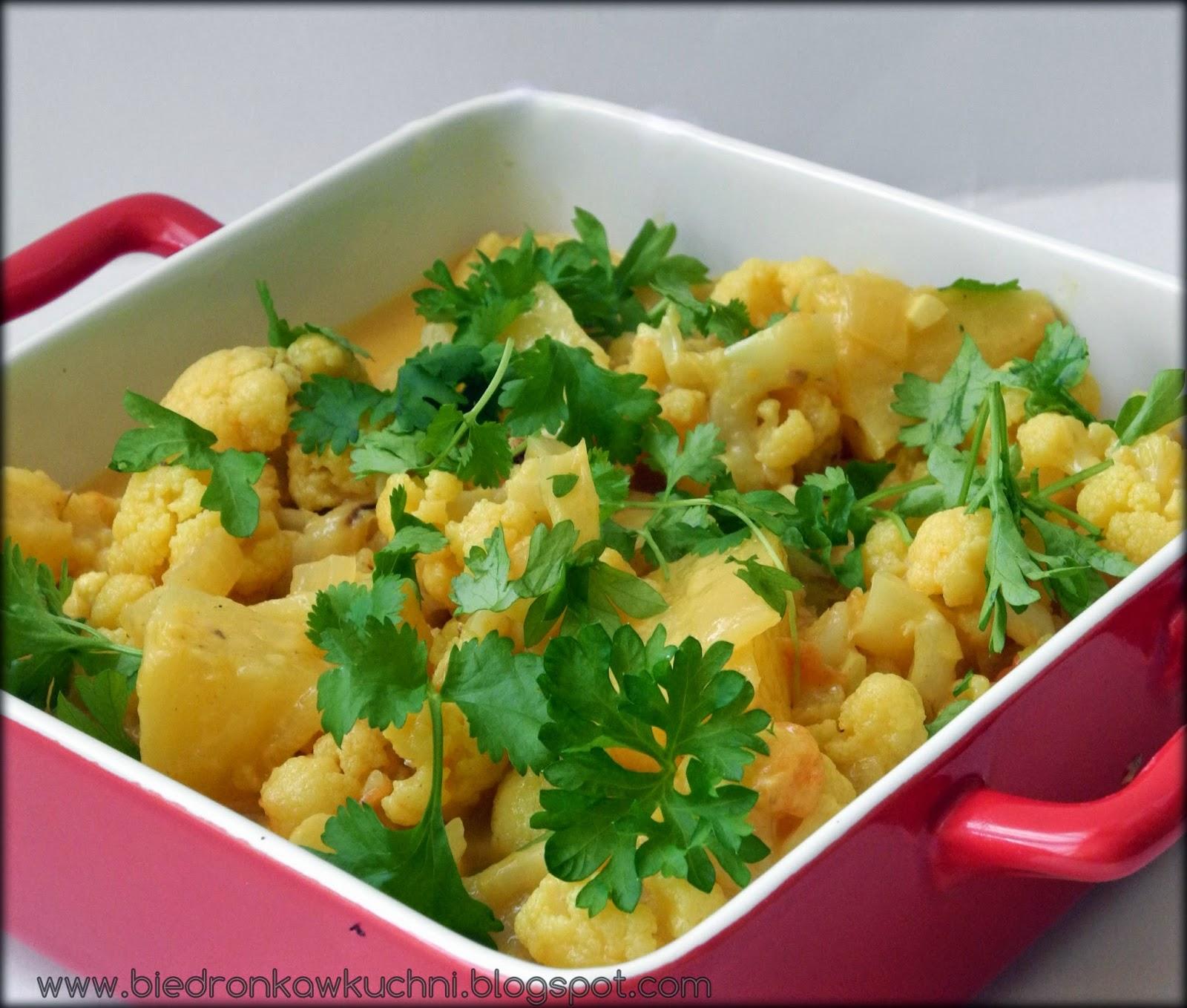 curry wegetariańskie