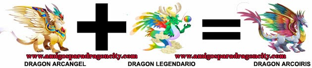 como hacer el dragon arcoiris de dragon city formula 1