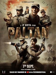 Paltan (2018) Hindi Movie pre-DVDRip | 720p | 480p