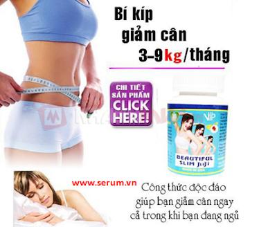 Viên uống Giảm Cân Beautiful Slim JuJi Vip Nano hiệu quả