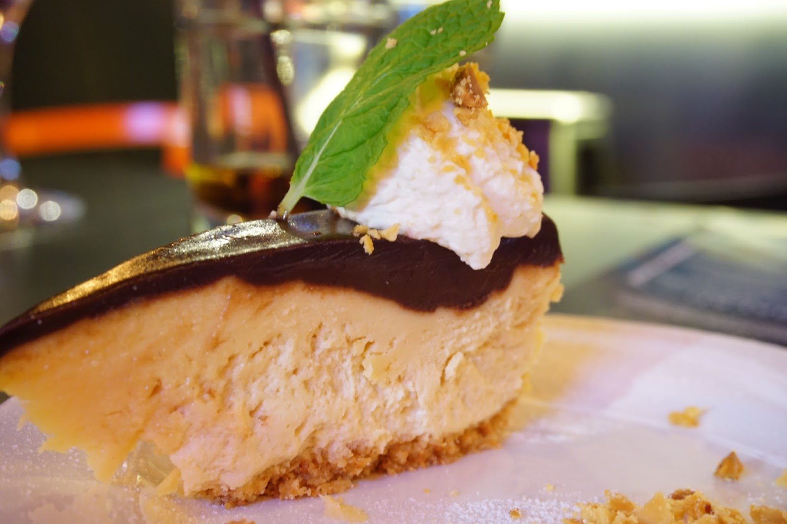 Peanut butter and chocolate pie at The Curious Squire, North Adelaide