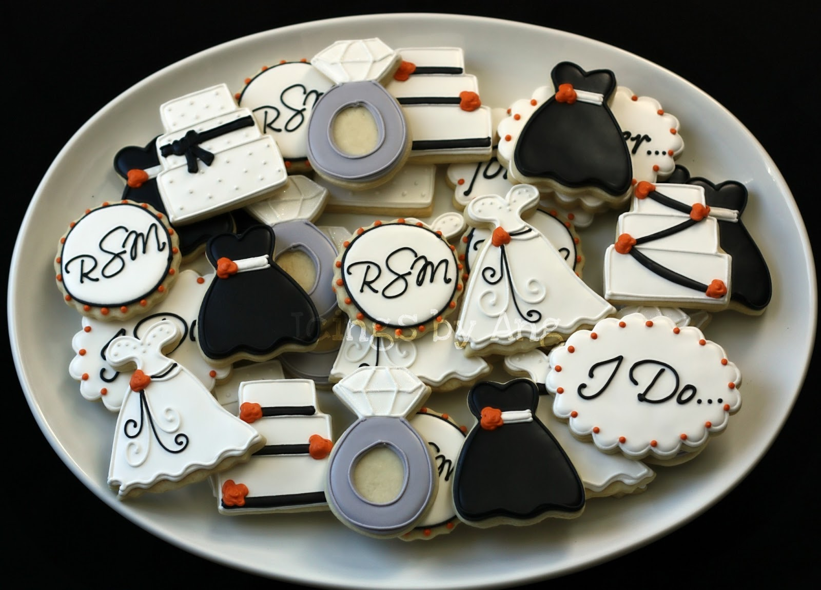 1000  Images About Engagement And Wedding Cookie Ideas On