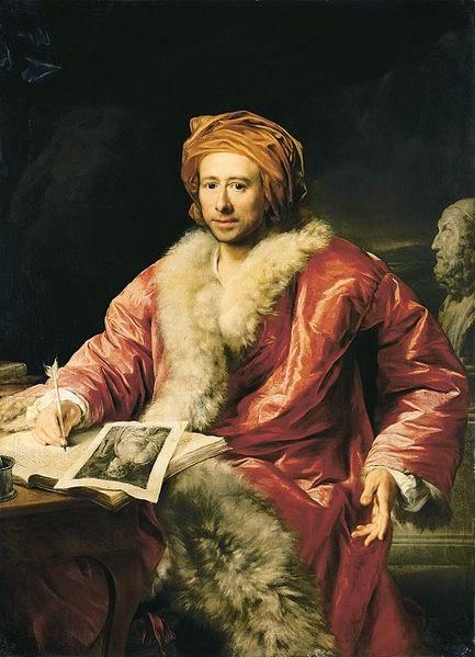Johann Joachim Winckelmann by Anton von Maron, 1768