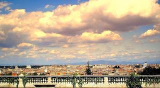 Il belvedere del Gianicolo a Piazzale Garibaldi