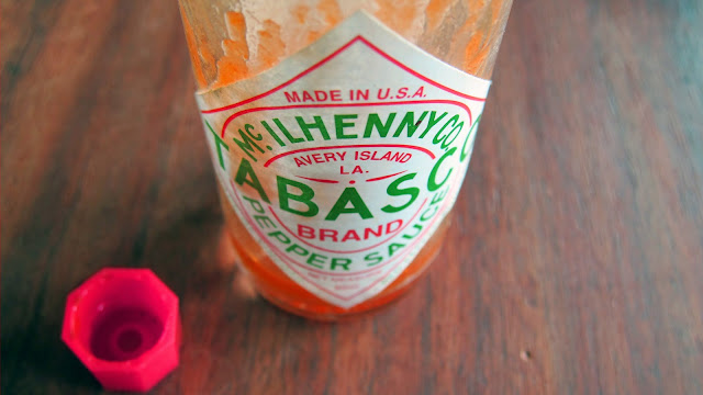 tabasco sauce bottle