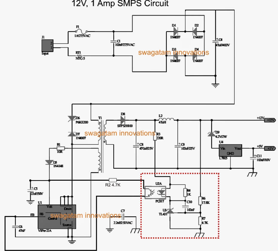 how to make a variable smps driver circuit