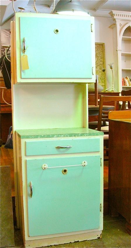 Junktique Emporium 1950 S Kitchen Cabinet
