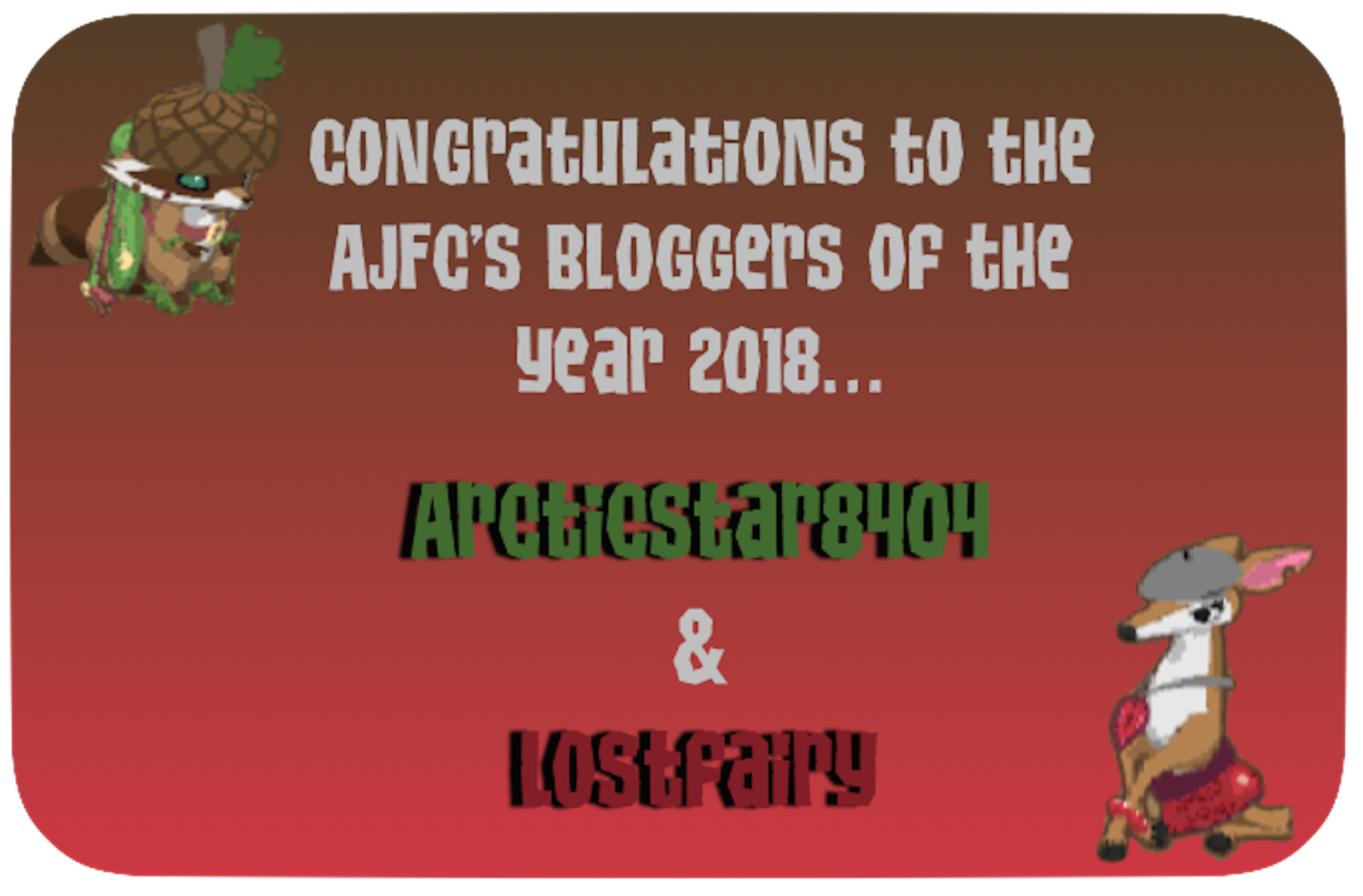 Bloggers of the Year (2018)