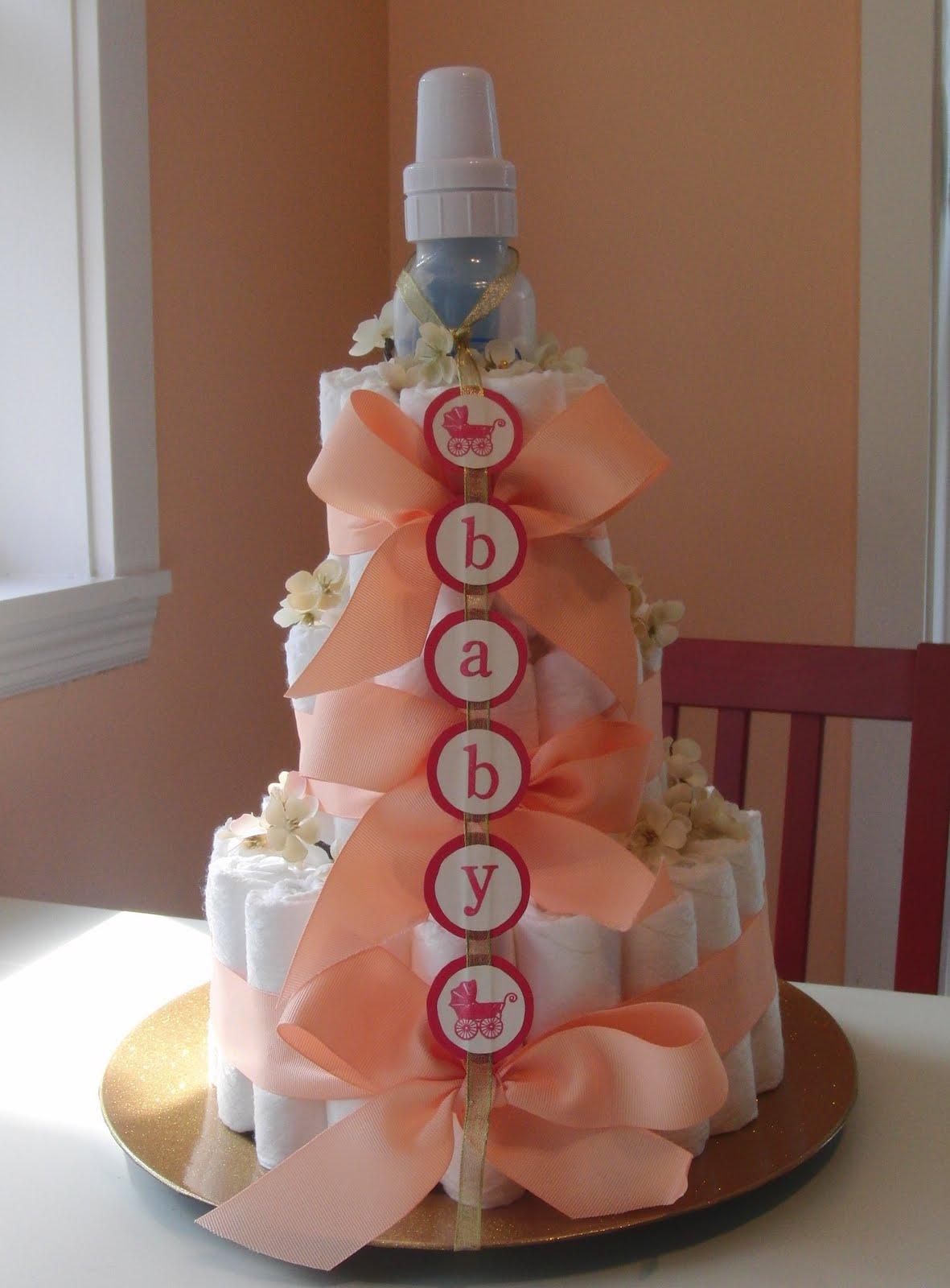 Tutorial http www make baby stuff com diaper cake instructions html