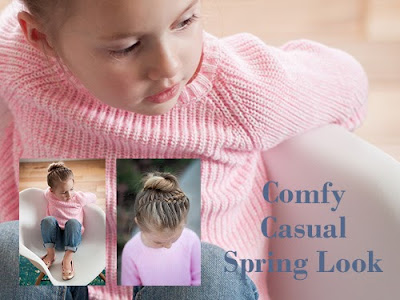 the perfect pink sweater for Spring