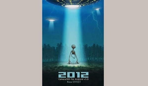 Camera 360 2012 alien effect