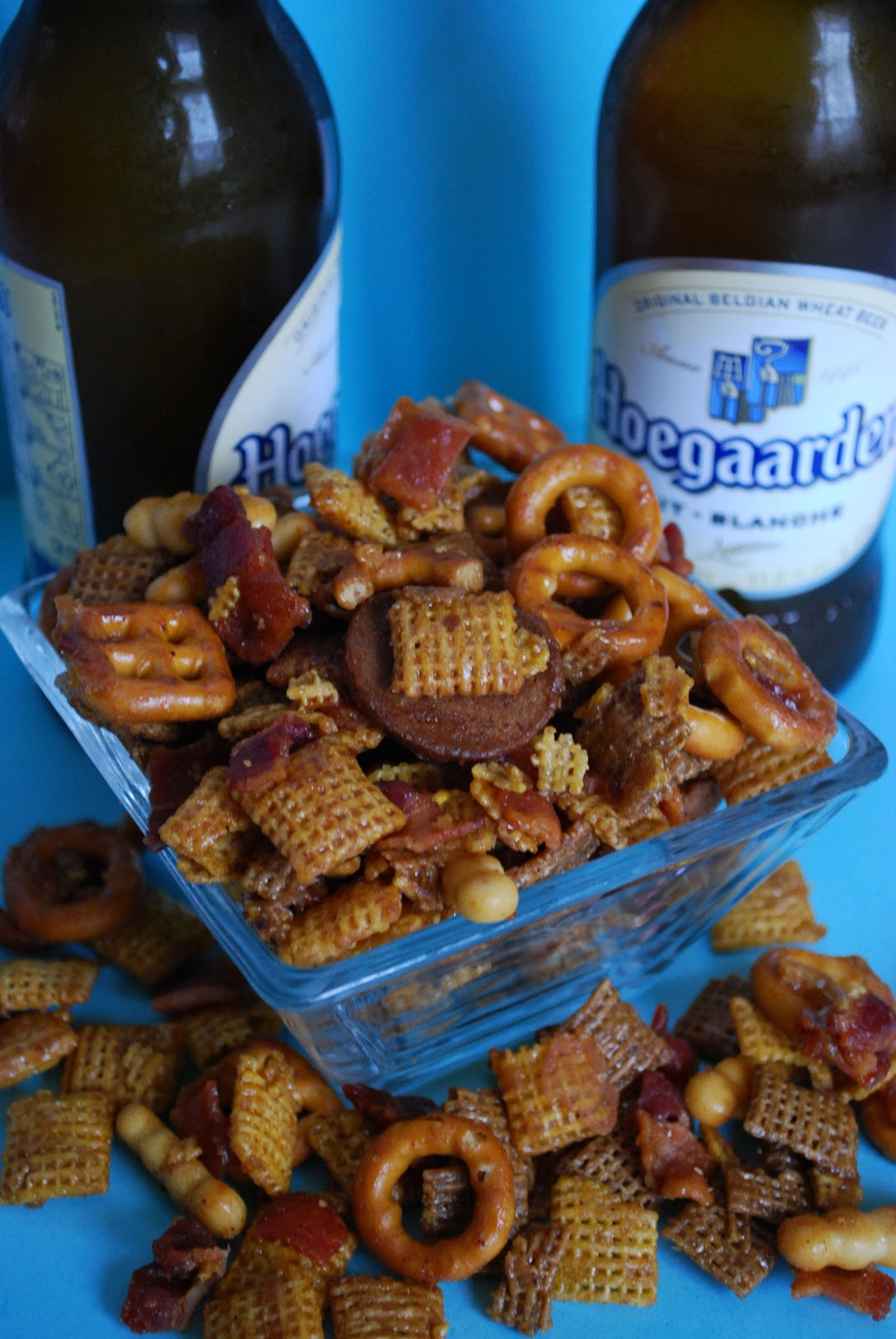 Bake.Frost.Repeat: Bourbon Bacon Chex Mix