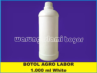 Jual Botol HDPE 1 Liter Putih Susu
