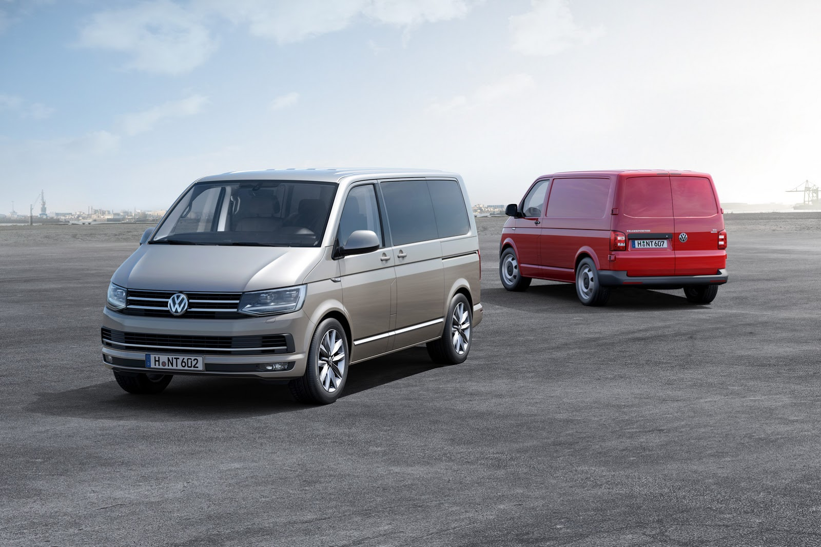 The Motoring World Honest John Awards Volkswagen T6 Panel Van Red Motor German Sixth Generation Transporter Was Selected As Outright Winner In Most Popular Category Ahead Of Four Other Shortlisted Commercial Vehicles