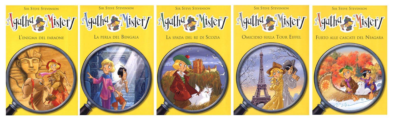 Alcuni titoli della collana Agatha Mistery