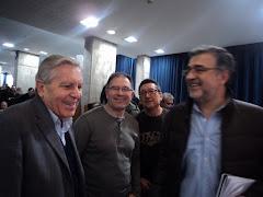 Amb Pere Rios del Pais  i Carlos Jimenez Villarejo