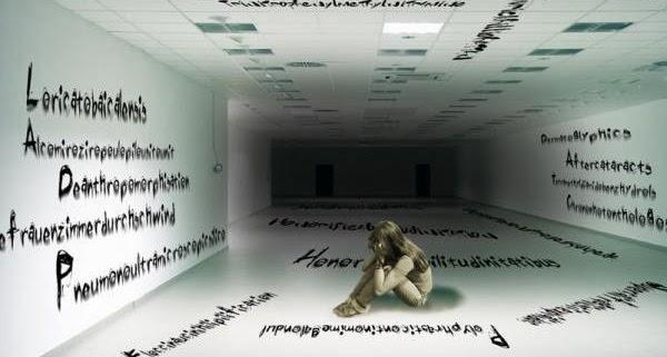 Hipopotomonstrosesquipedaliofobia / Sesquipedalofobia - Medo de palavras longas