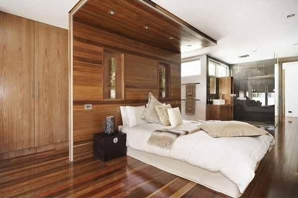 Desain Interior Rumah Minimalis, lantai kayu, desain indah dan menarik
