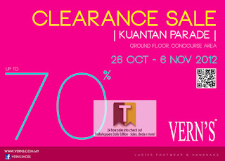 Vern's Clearance Sale Kuantan Parade 2012