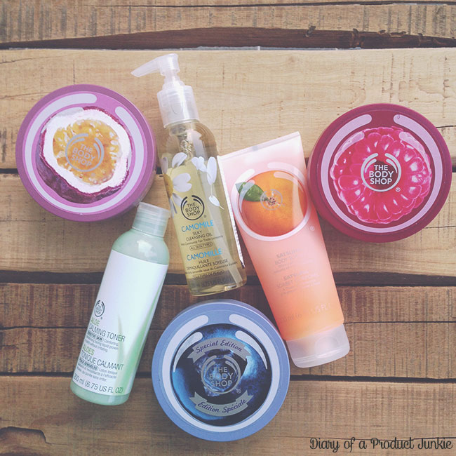The Body Shop Anniversary Sale