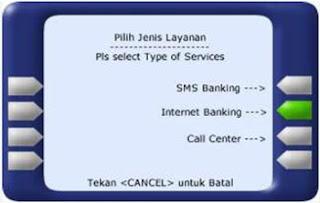 Cara Registrasi Internet Banking Mandiri Melalui ATM