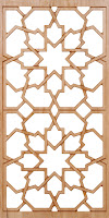 Moorish Pattern Lattice
