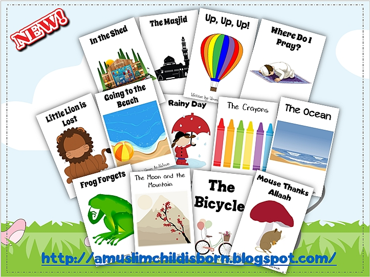 A Muslim Child is Born: Emergent Readers (13 Free Books with ...