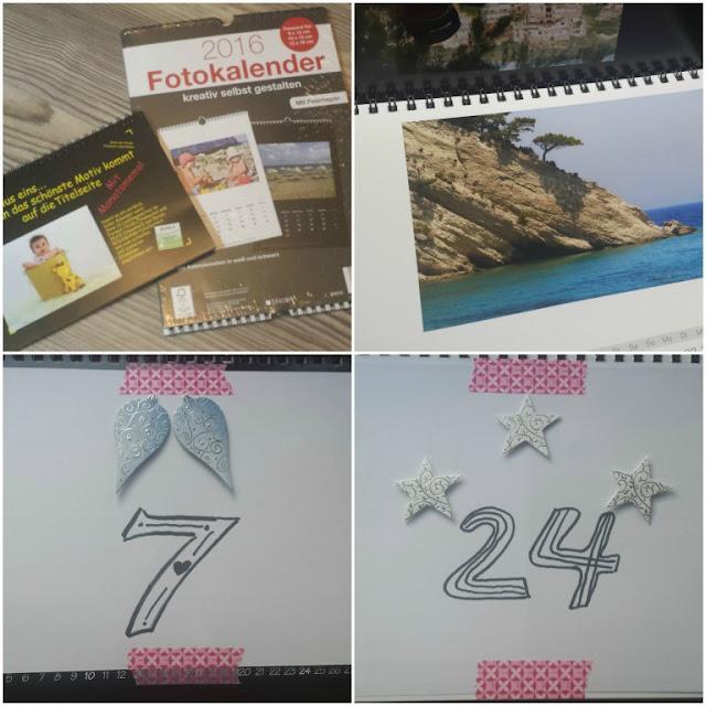 Adventskalender aus Fotokalender basteln