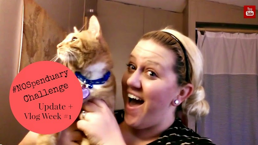 #NOSpenduary Challenge Update and Vlog...