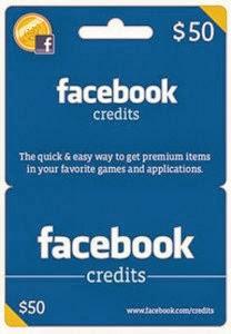Como funciona o cartão presente do facebook valores, informações