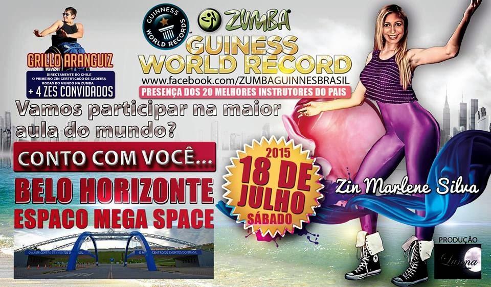 Mega aula de Zumba Fitness