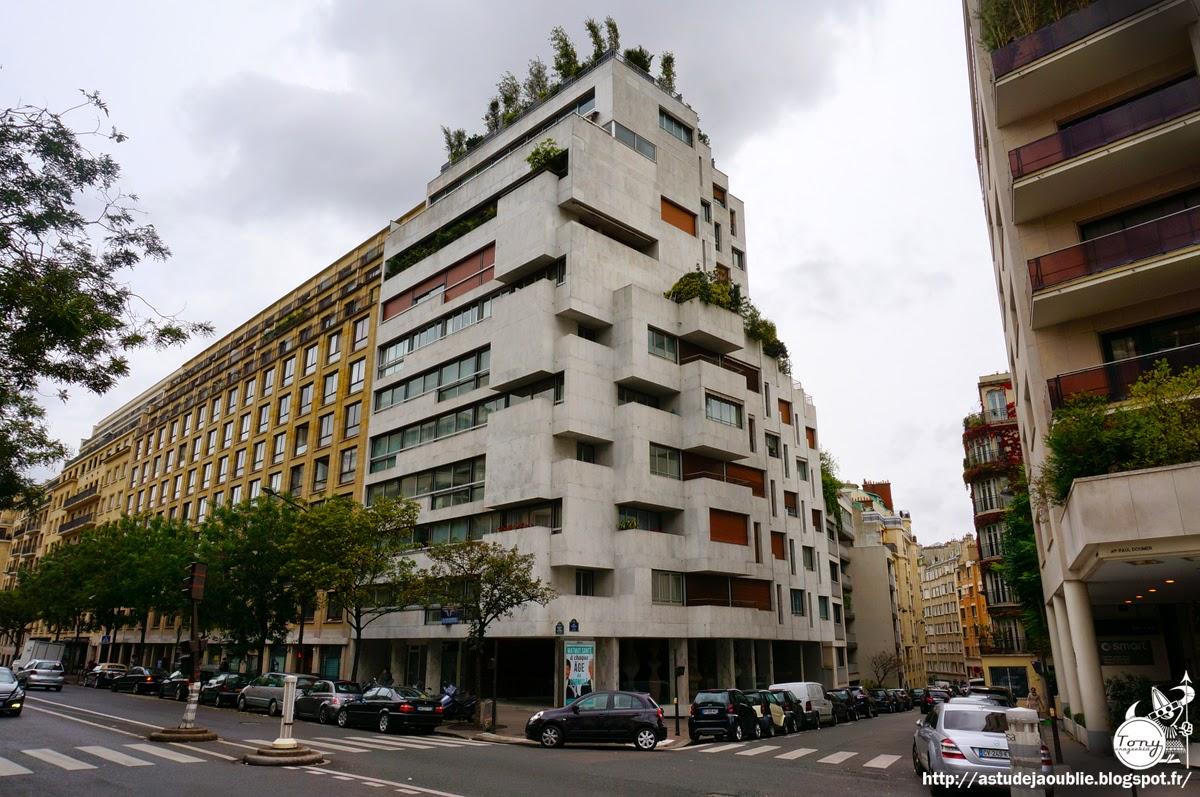 Paris immeuble av paul doumer roger anger l 39 oeuf for Architecture geometrique